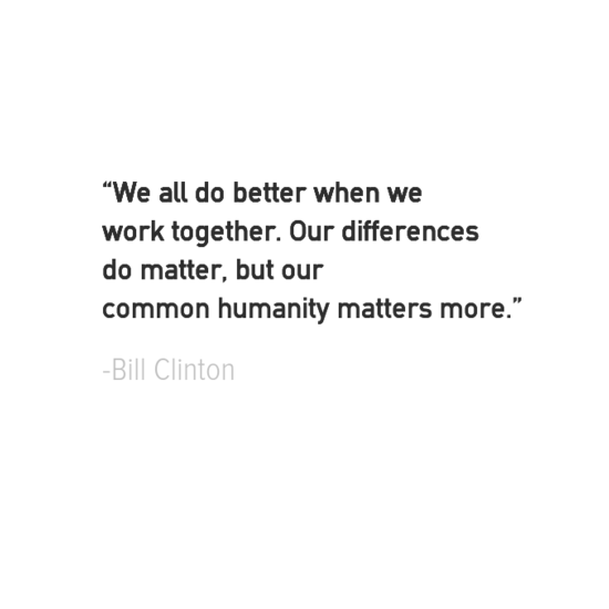 Bill Clinton inspirational president quotes