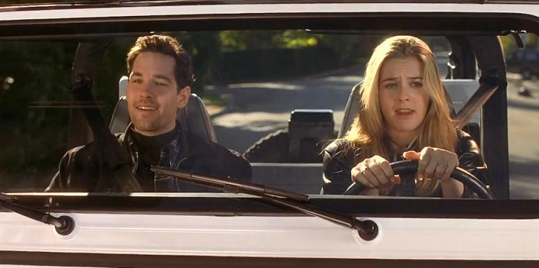 Alicia Silverstone and Paul Rudd from Clueless