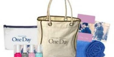 One Day movie Gift Bag beach kit