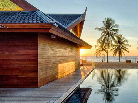 Kardashian-Jenner Family Thailand Iniala Beach House Resort