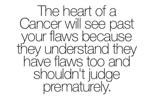 Cancer flaws