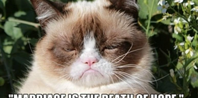 7 Cynical Love Quotes, Told In Grumpy Cat Memes