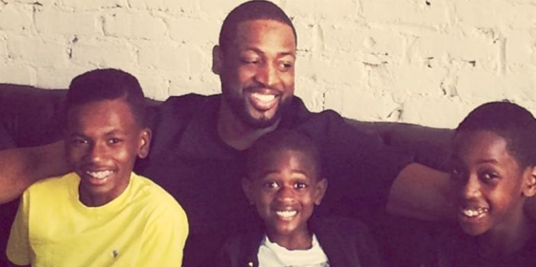 Dwyane-Wade and Kids