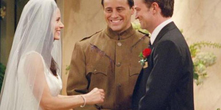 Monica & Chandler Bing