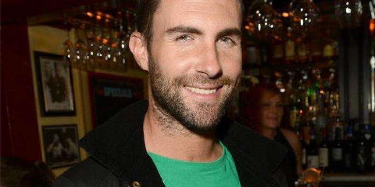 Adam Levine in bar