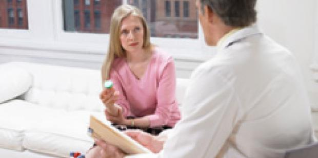 Woman Seeing Doctor