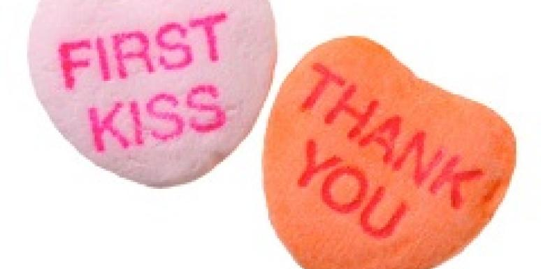 First kiss candy
