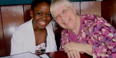 Michaela DePrince and Elaine DePrince