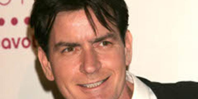 Charlie Sheen at the People's Choice Awards in 2007.