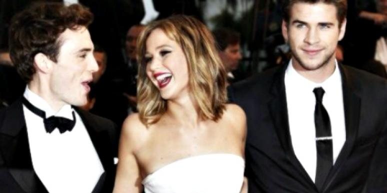 jennifer lawrence laughing