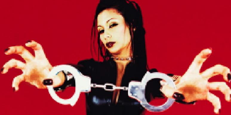 sexy woman handcuffs bondage
