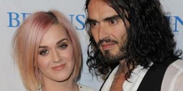 Katy Perry and Rusell Brand