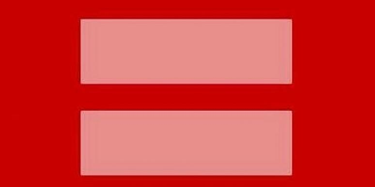 Marriage Equality Symbol On Facebook