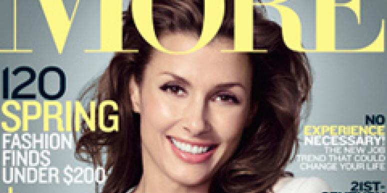 Bridget Moynahan More Magazine