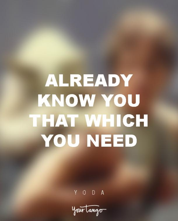 Yoda Quotes Relationship Advice