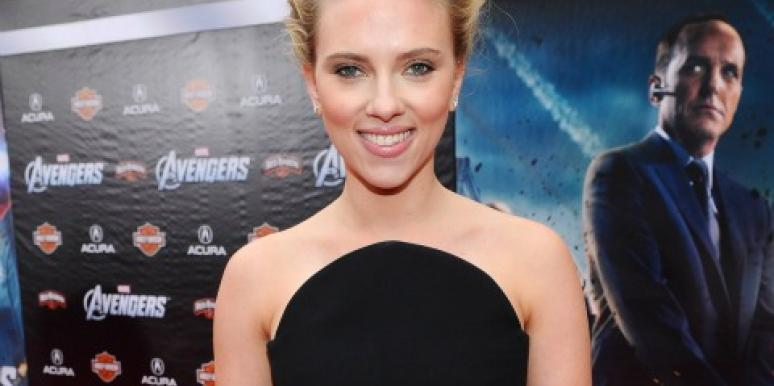 Scarlett Johansson at 'The Avengers' premiere