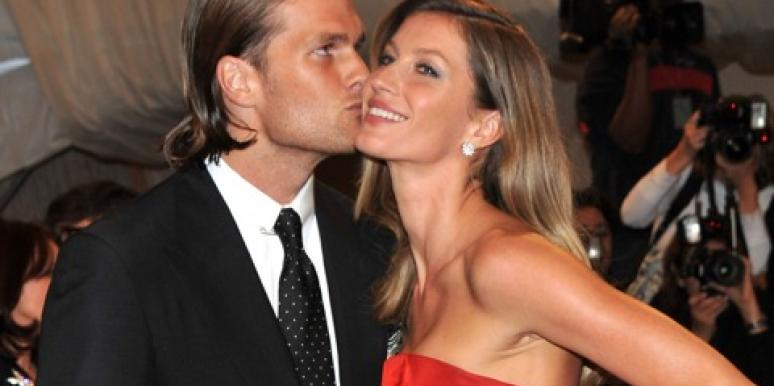 gisele bundchen and tom brady kiss