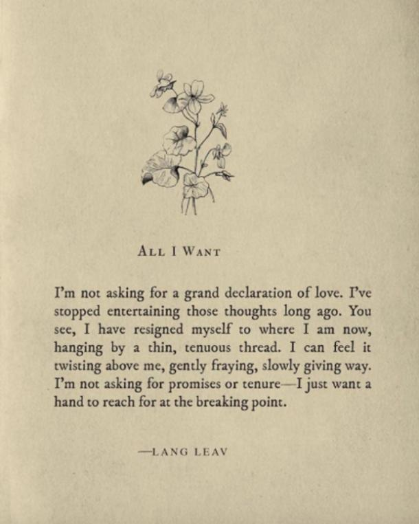 Lang Leav Love Poems
