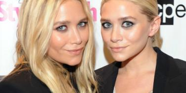 the olsen twins at NYFW