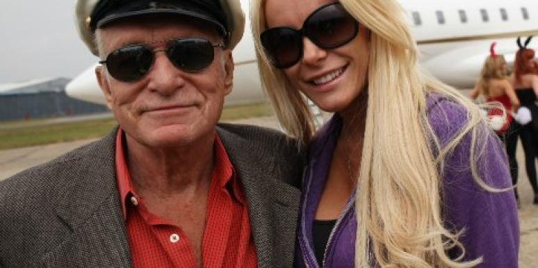 hugh hefner and crystal harris private jet