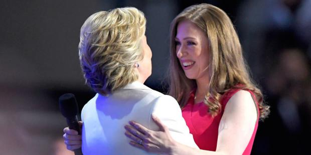 Hillary Clinton and Chelsea Clinton