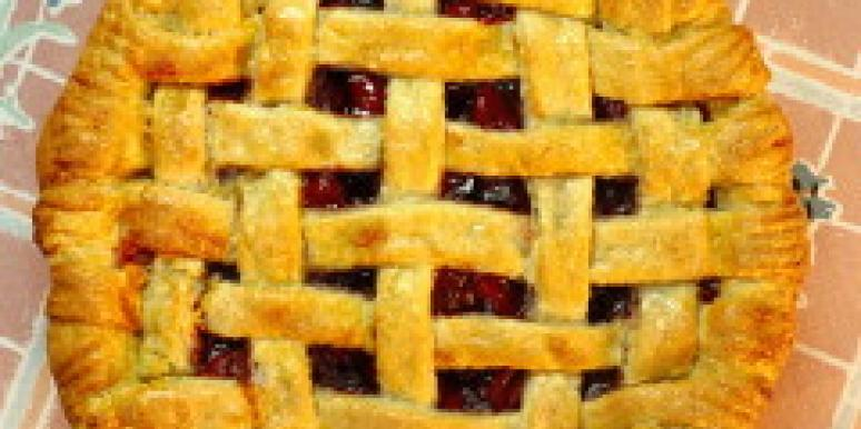 Cherry pie the new wedding cake?