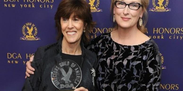Meryl Streep and Nora Ephron