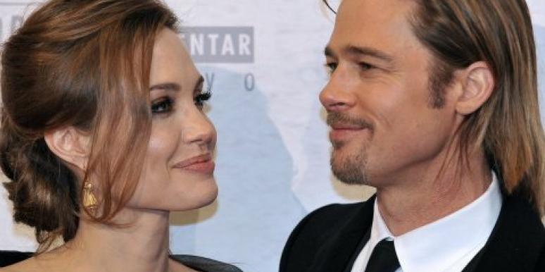 Angelina Jolie and Brad Pitt romance