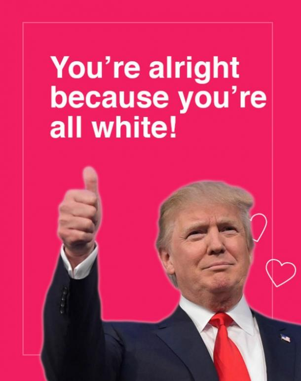 14 Donald Trump Digital Valentines Day Cards And Funny Memes – Great Valentines Cards