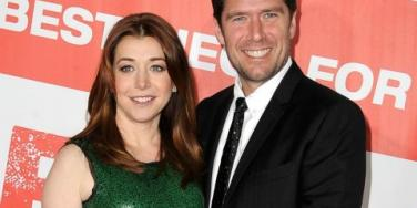 Alyson Hannigan and hubby Alexis Denisof