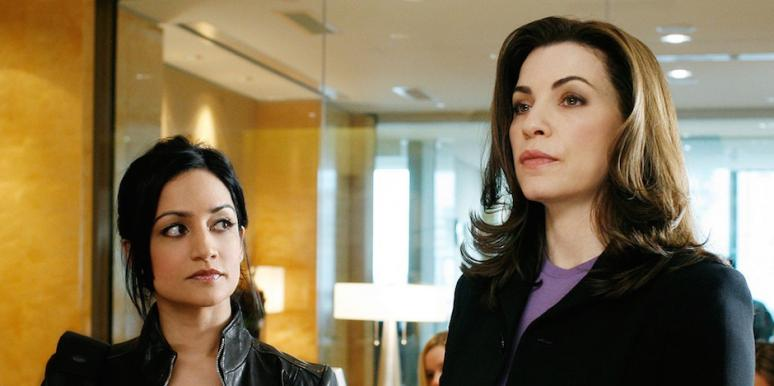 Julianna Margulies and Archie Panjabi from The Good Wife