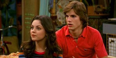 Mila Kunis and Ashton Kutcher That 70s Show