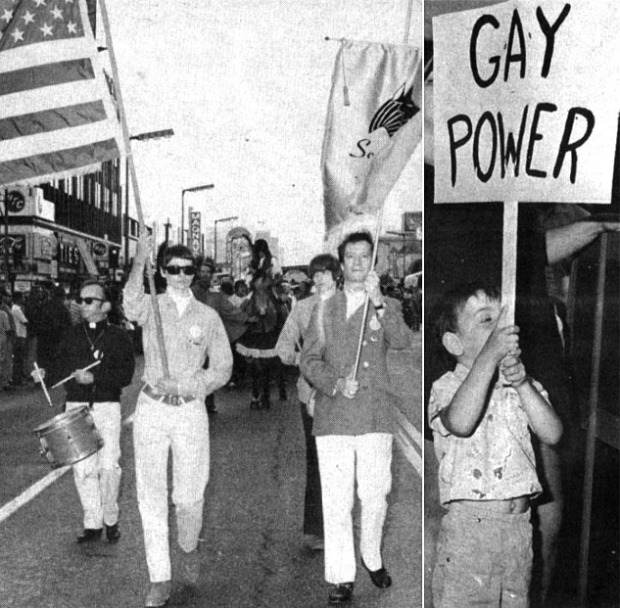 """<a href=""""http://www.advocate.com/pride/2014/06/05/tbt-what-gay-pride-looked-1970"""" target=""""_blank"""">advocate.com</a>"""