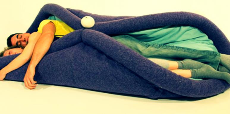 Nap In Comfort With This Taco-Shaped Bed