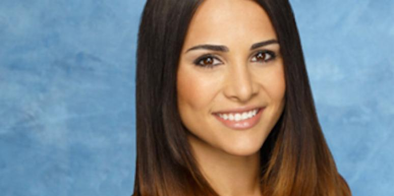 Andi Dorfman, the new ABC 'Bachelorette,' in her cast photo for ABC's 'The Bachelor' with Juan Pablo Galavis