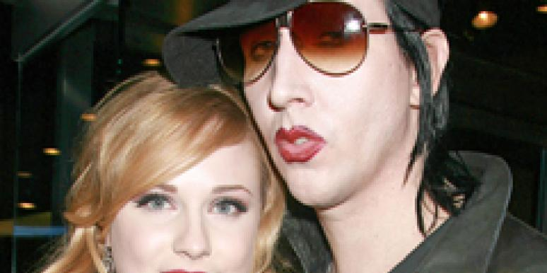 Evan Rachel Woods Will Marry Marilyn Manson