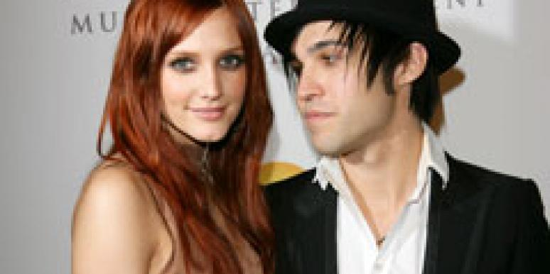 Ashlee Simpson Wentz and Pete Wentz