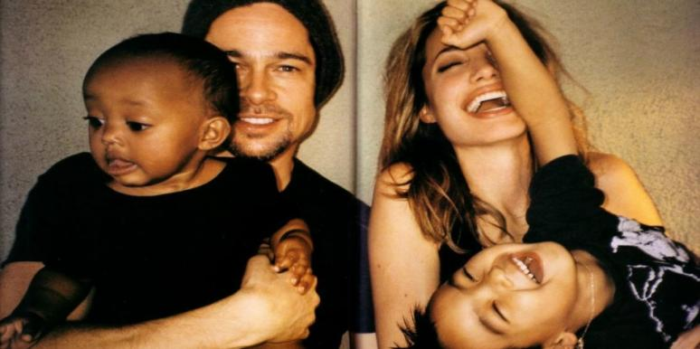 angelina jolie brad pitt family divorce parenting