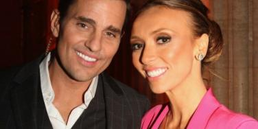 Bill and Giuliana Rancic smile