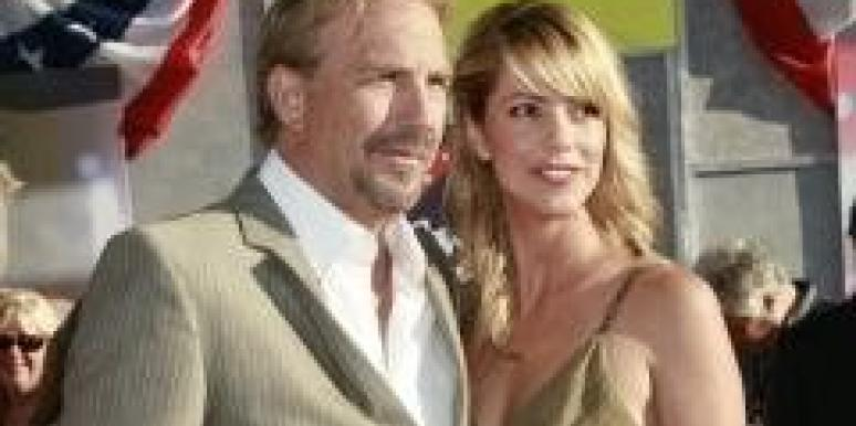 Kevin Costner and Christine Baumgartner