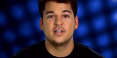 "Rob Kardashian on ""Keeping Up With the Kardashians"""