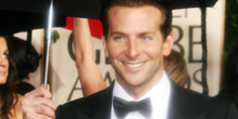 Bradley Cooper is alone at the Golden Globes