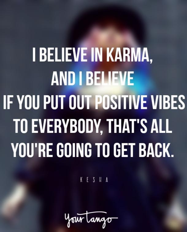 Karma Quotes From Celebrities