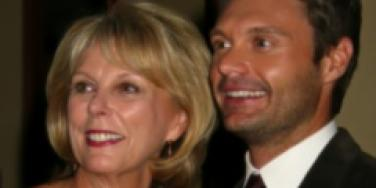 Ryan Seacrest and Connie Seacrest