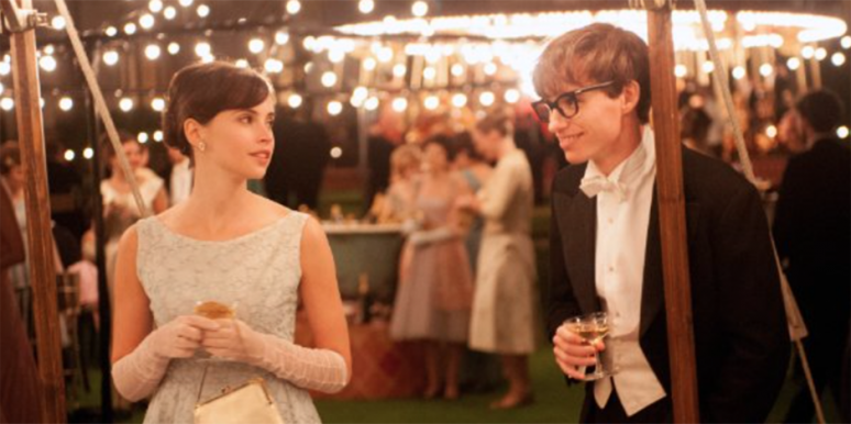 The Theory of Everything, Eddie Redmayne, Felicity Jones