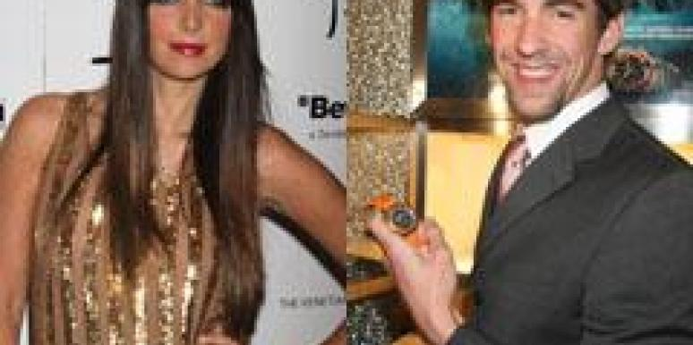 Michael Phelps and Brittny Gastineau