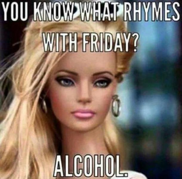 Best Memes About Drinking On Friday