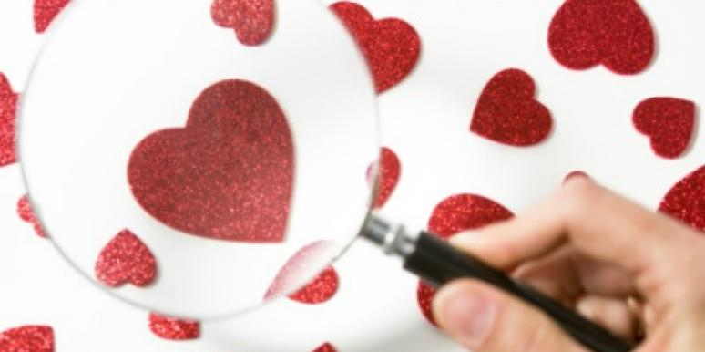 magnifying glass hearts
