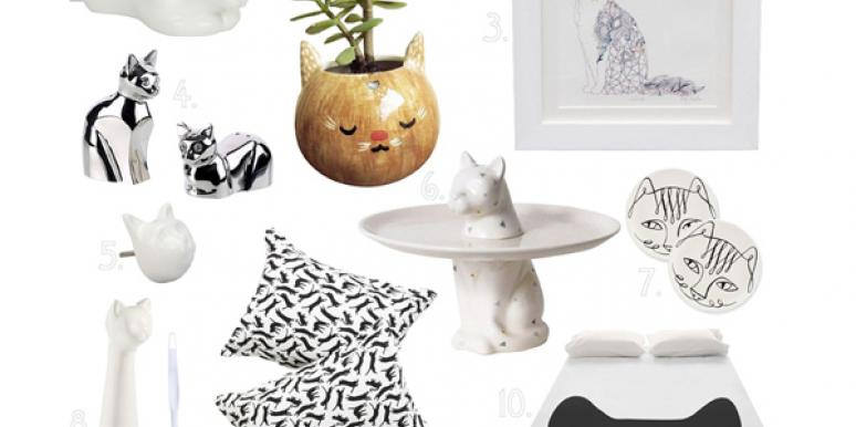 10 Quirky Cool Ways to Decorate Your Home With Cats (Seriously)