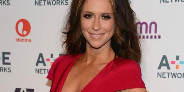 Jennifer Love Hewitt red dress